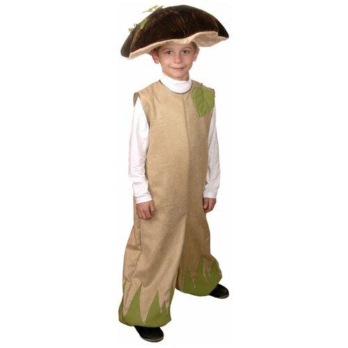 Костюм Маскарад у Алисы Грибок (202042), бежевый, размер 32(128) костюм маскарад у алисы восточный принц коричневый размер 32 128