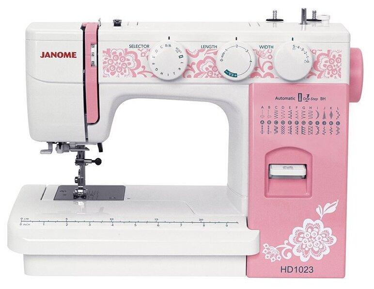 Швейная машина Janome HD1023