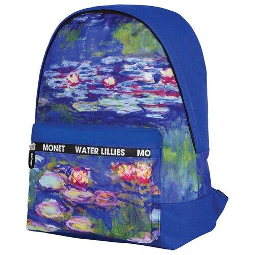 Berlingo рюкзак Art Водяные лилии, синий