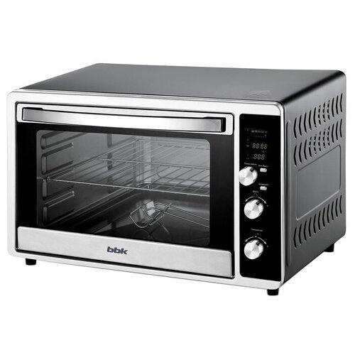 Мини-печь BBK OE3073DC черный/серебристый