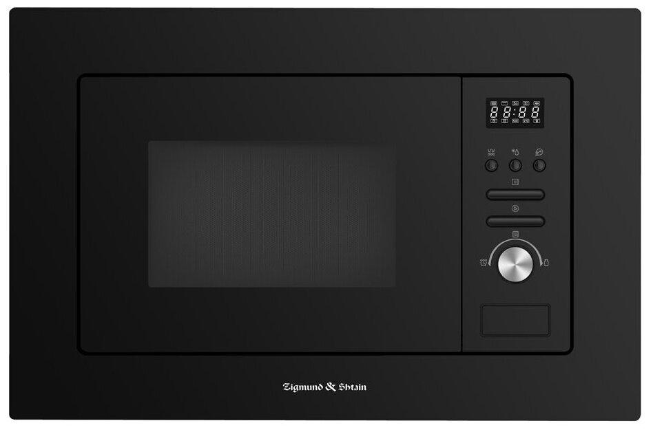 Микроволновая печь встраиваемая Zigmund & Shtain BMO 16.202 B — цены на Яндекс.Маркете