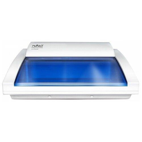 Фото - Ультрафиолетовый стерилизатор Runail Professional 1848 белый/синий стерилизатор timson то 01 278 ультрафиолетовый для бритвенных станков