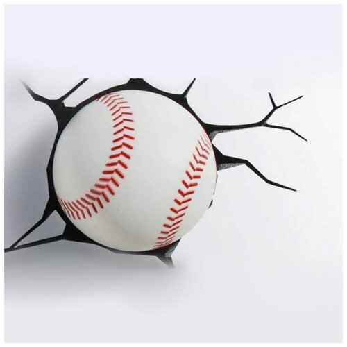 Светильник 3Dlightfx Бейсбол