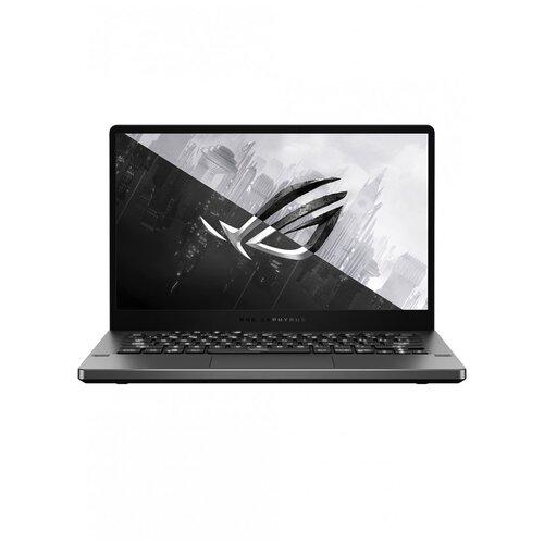 "Ноутбук ASUS ROG ZEPHYRUS G14 GA401QE-HZ085T (AMD Ryzen 7 5800HS/14""/1920x1080/8GB/512GB SSD/NVIDIA GeForce RTX 3050 Ti 4GB/Windows 10 Home) 90NR05R3-M01270 серый"