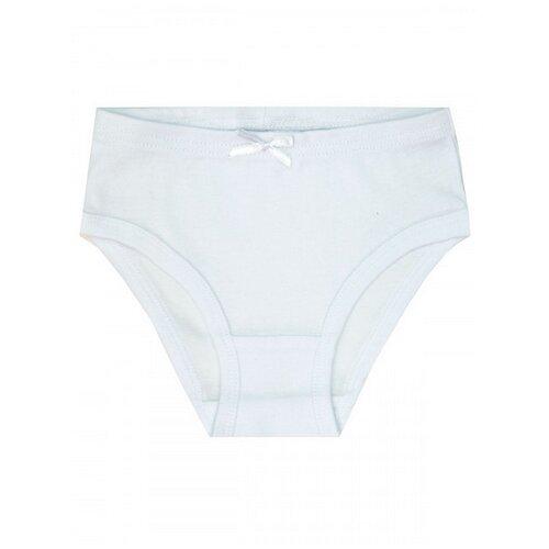 Купить 1458 Комплект трусов (3 шт) для девочки белый, размер 152_158-80 Let's Go, Белье и купальники