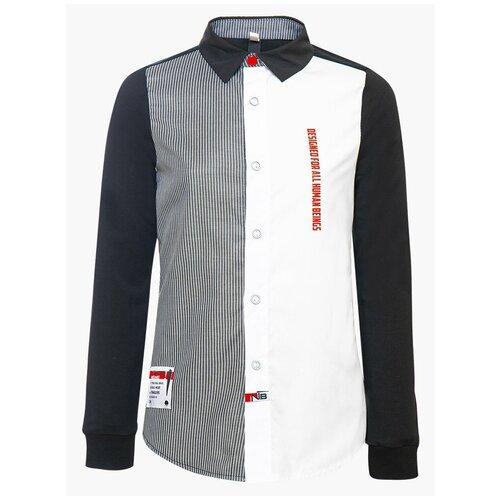Рубашка Nota Bene размер 158, черный