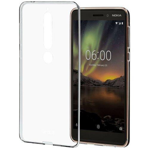 Чехол-накладка Nokia CC-110 для Nokia 6.1 прозрачный