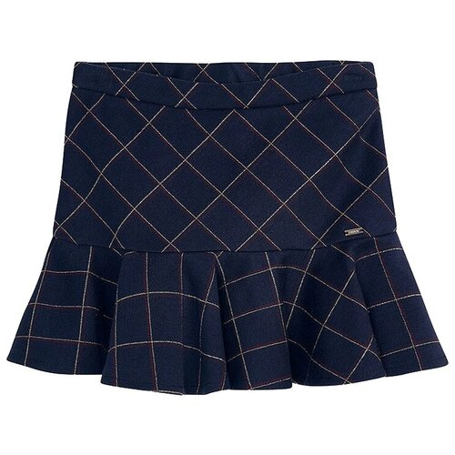 Юбка Mayoral размер 9(134), темно-синий брюки mayoral 04551 размер 9 134 015 темно синий