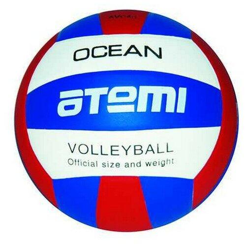 Волейбольный мяч ATEMI OCEAN белый/красный/синий