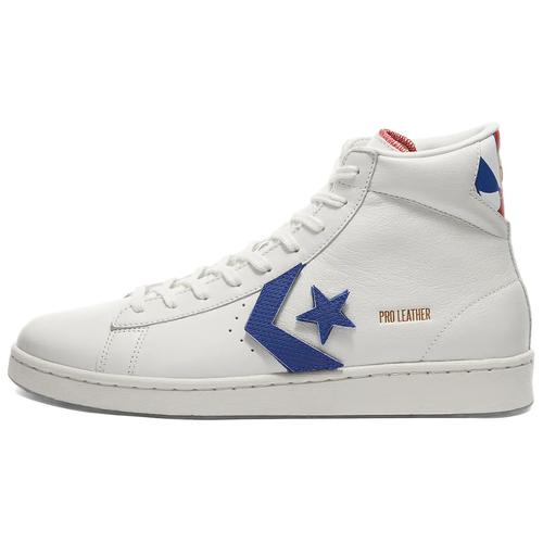 Кеды Converse Pro Leather Hi размер 42, vintage white/university red
