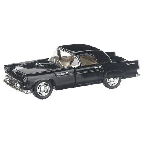 Купить Легковой автомобиль Serinity Toys Ford Thunderbird 1955 (5319DKT) 1:36, 12.5 см, черный, Машинки и техника