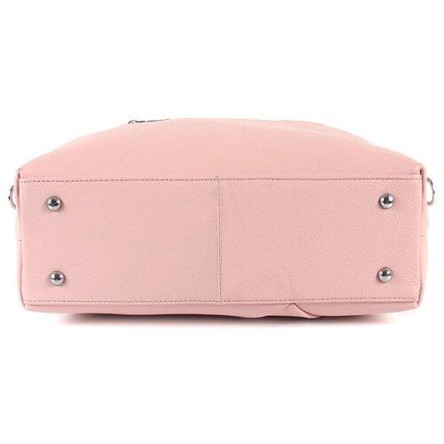 Сумка женская натуральная кожа MEYNINGER А-СВ-8248/розовый, модель сэтчел