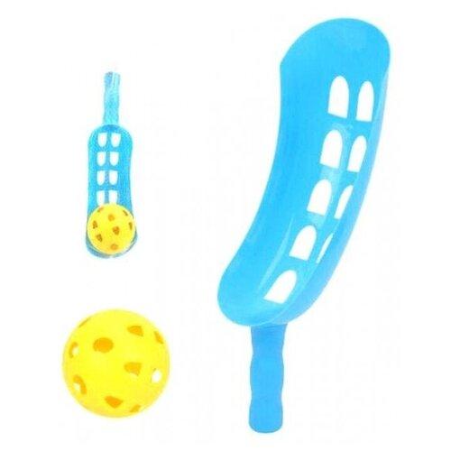 Купить Набор: поймай мячик, ловушка 36 см, мяч Наша Игрушка 825, Наша игрушка, Мячи и прыгуны