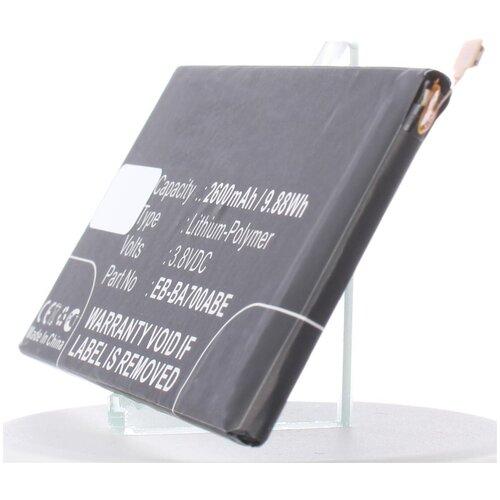 Аккумулятор iBatt iB-U1-M855 2600mAh для Samsung Galaxy A7, SM-A700FD, SM-A700F, Galaxy A7 Duos, SM-A700L, SM-A700F Galaxy A7,