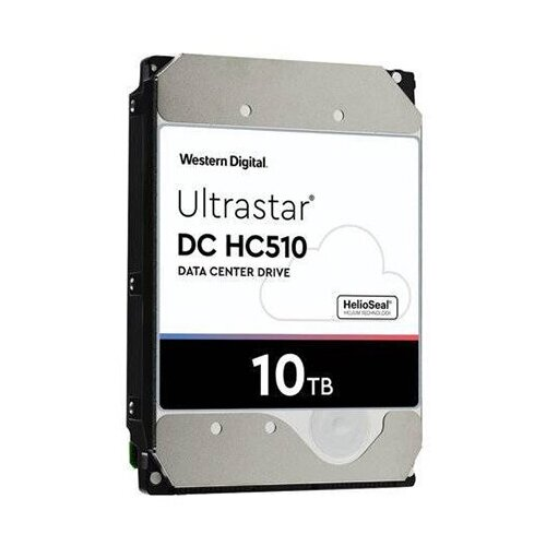 Жесткий диск 10TB SATA 6Gb/s Western Digital 0F27504
