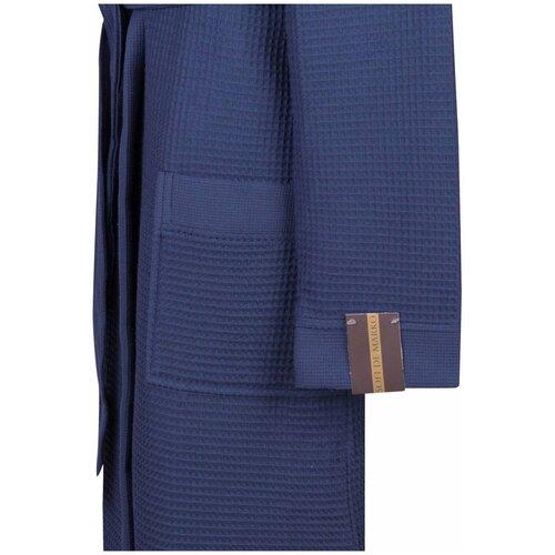 Фото - Мужской халат с капюшоном Sofi de Marko Гамлет (синий) М халат женский sofi de marko венера s синий