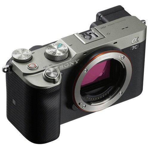 Фотоаппарат Sony Alpha A7C Body Silver ILCE-7C фотоаппарат sony alpha ilce 7c body black