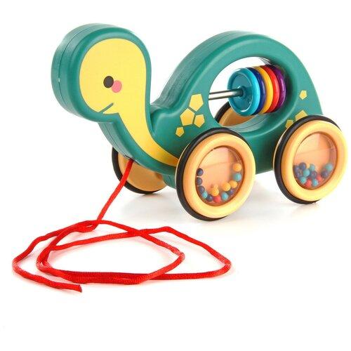 Каталка-игрушка Ути-Пути Черепашка зелeный