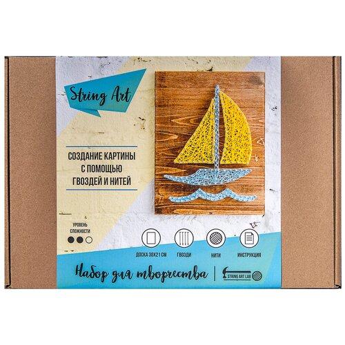 Купить String Art Lab Набор для творчества Кораблик (A4008), Поделки и аппликации