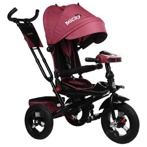 Купить Трехколесный велосипед Micio Comfort Plus 2019, бордовый, Трехколесные велосипеды