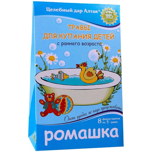 Целебный дар Алтая Травы для купания Ромашка, 40 г