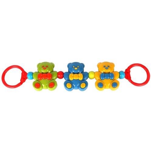 Фото - Растяжка Умка Медвежата (B384283-R) красный/желтый игрушка для ванной умка бегемотик b1410463 r красный желтый зеленый