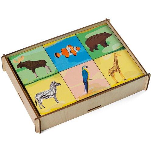 Купить Настольная игра Сибирские игрушки Мемори Животные, Настольные игры