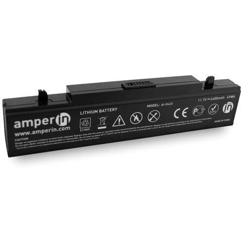 Аккумуляторная батарея Amperin для ноутбука Samsung R420 R510 R580 4400mah AI-R420