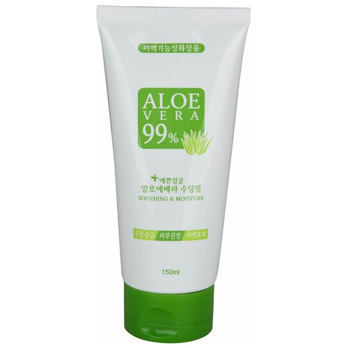 Гель для тела Well-being Health Pharm Aloe Vera 99% Soothing Gel Гель для лица и тела с алоэ, 150 мл недорого
