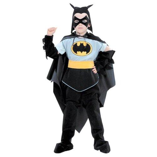 Купить Костюм Батик Бэтмен (402), черный/серый, размер 146, Карнавальные костюмы