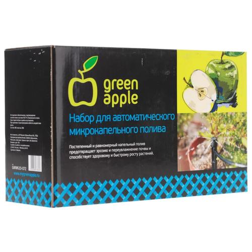 Фото - Green Apple Набор капельного полива GWDK20-071, длина шланга: 20 м, с таймером, кол-во растений: 20 шт. gardena набор капельного полива базовый 13002 20 длина шланга 15 м с таймером кол во растений 20 шт