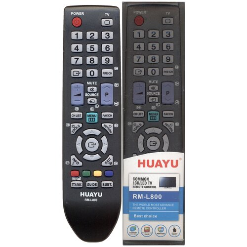 Фото - Пульт Huayu для Samsung RM-L800 универсальные пульт huayu для toshiba rm d809 универсальные