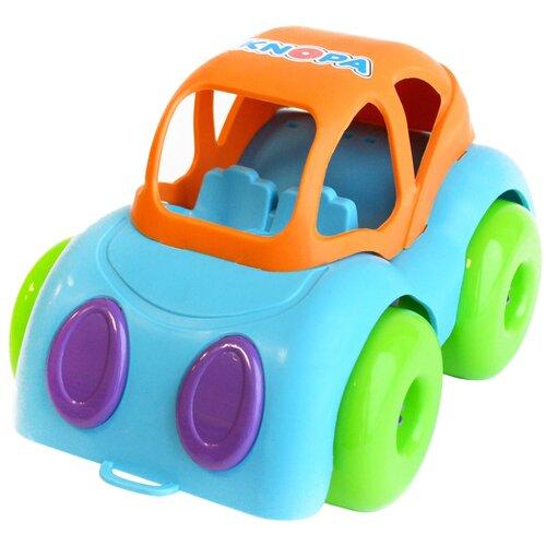 Машинка Knopa 86208/86212, 22 см, голубой/оранжевый/зеленый