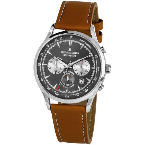 Фото - Наручные часы JACQUES LEMANS 1-2068B наручные часы jacques lemans 1 2068b