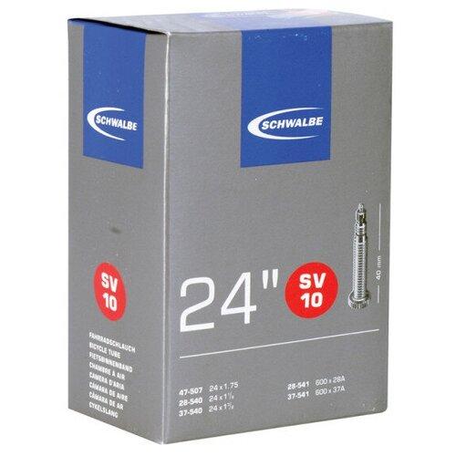 Камера. 24 спорт ниппель 05-10421313 SV10 (40/62-507) IB AGV 40mm. SCHWALBE