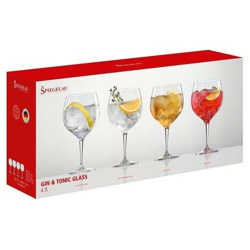 Фото - Набор бокалов для коктейлей Spiegelau Gin and Tonic gift set , 4 шт. набор бокалов для коктейлей sea life