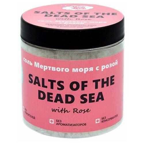 Meela Meelo Соль мертвого моря с розой, 500 мл