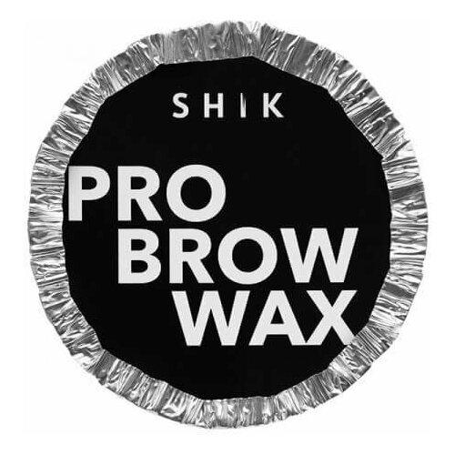 Фото - SHIK Воск для бровей Pro Brow Wax в брикете 125 г пинцет shik для бровей pro черный