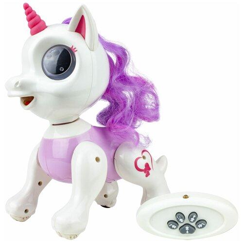 Фото - Робот 1 TOY Robo Pets Единорог Корни Т17157 белый/розовый робот 1 toy robo pets котёнок белый голубой