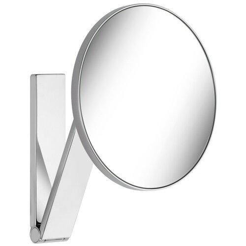 зеркало косметическое настенное keuco bella vista 17605019000 с подсветкой Зеркало косметическое настенное KEUCO iLook_ move (17612010000) хром