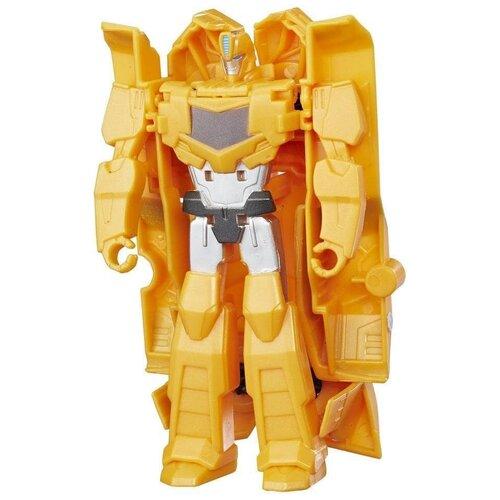 Трансформер Transformers Transformers Бамблби. Уан-Стэп (Роботы под прикрытием) C0646, желтый