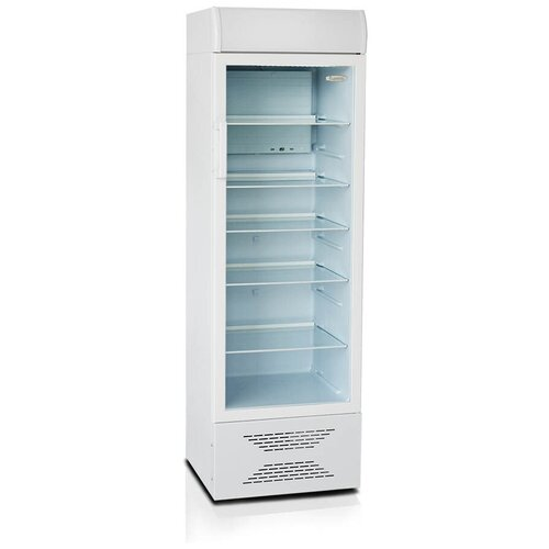 Шкаф-витрина Бирюса 310P Белый (цвет поверхности 06) недорого