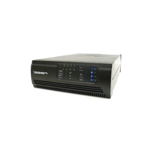 Ippon Smart Winner 1000 Black (линейно-интерактивный ИБП, 700Вт, вых. розетки 6, связь с ПК USB+COM)