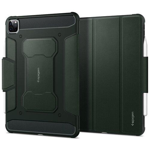Чехол Spigen Rugged Armor Pro (ACS01026) для iPad Pro 11 2018/2020 (Military Green)