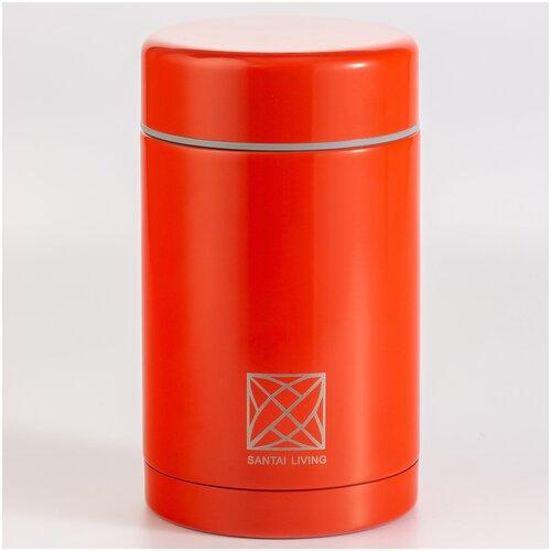 """Термос - контейнер для еды """"Cube"""" (500 мл) коралловый"""