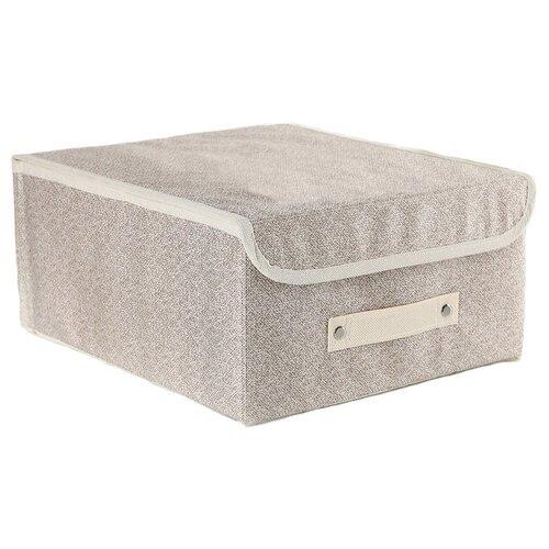 textura короб для хранения с крышкой 28 х 30 х 15 см home Доляна Короб для хранения с крышкой 30 х 28 х 15 см Европа