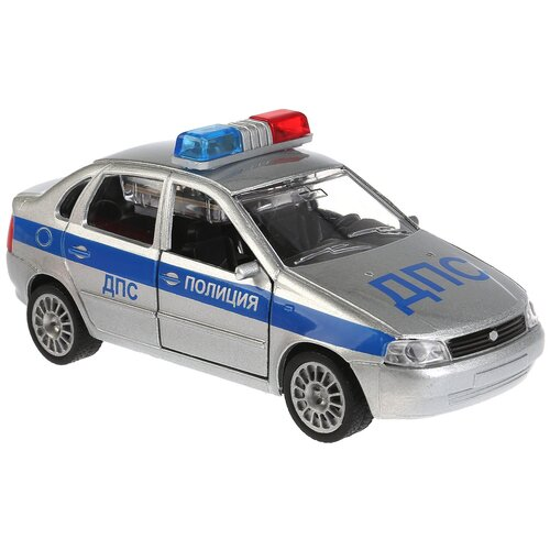 Легковой автомобиль ТЕХНОПАРК Lada Kalina ДПС (CT-1049WB-11) 1:32, серебристый