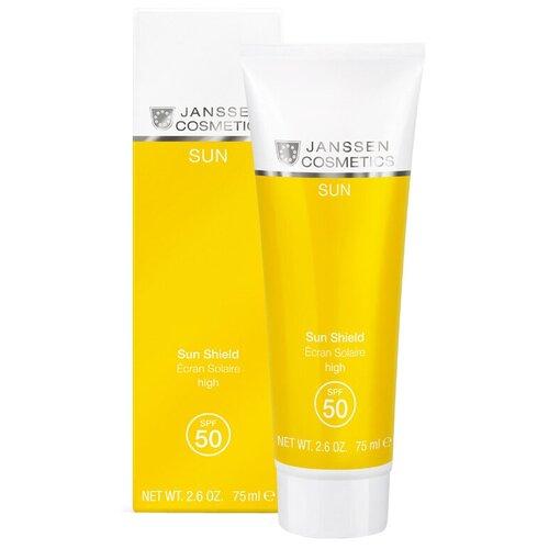 Janssen Cosmetics Солнцезащитная эмульсия для лица и тела SPF 50 75 мл эмульсия для тела janssen cosmetics isoflavonia с фитоэстрогенами 200 мл