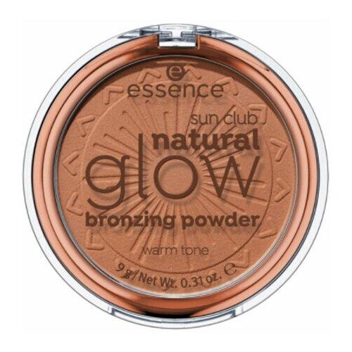 Essence Бронзирующая пудра Sun Club Natural Glow Bronzing Powder 01 Теплый тон недорого