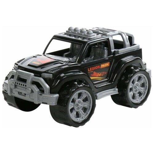Купить Внедорожник Полесье Легион №2 (76021/76113), 38.5 см, черный, Машинки и техника